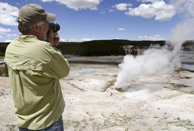 Tourist Tourism Yellowstone National Park File