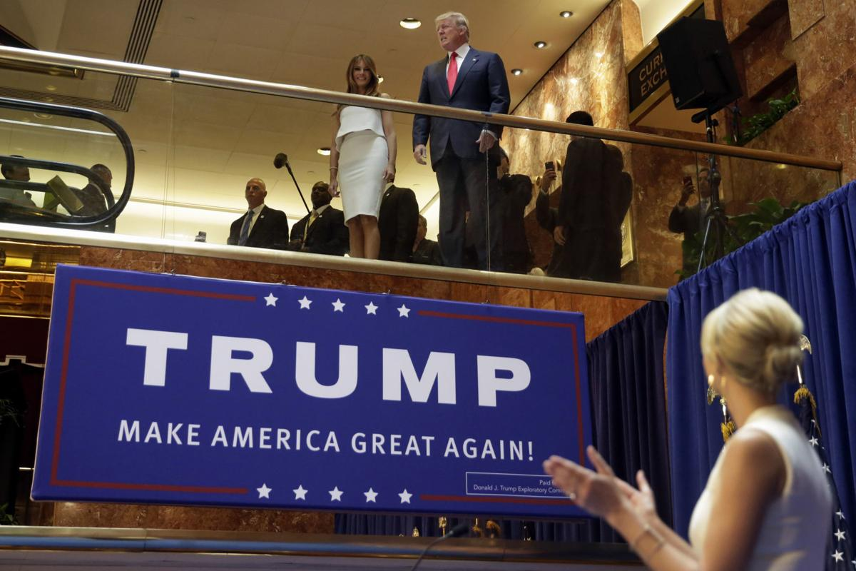 4 years in, Trump fondly recalls Trump Tower campaign launch