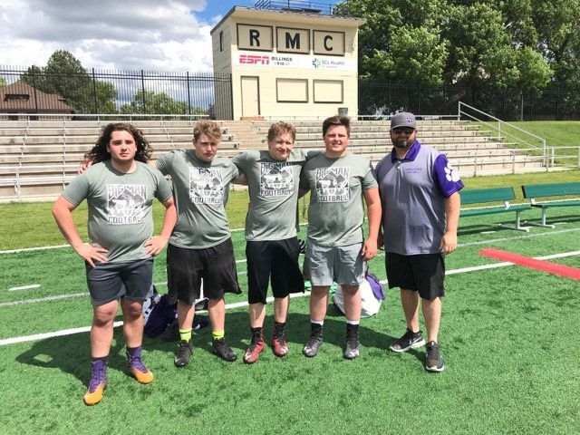 Panthers attend Rocky Mountain Linemen's Camp