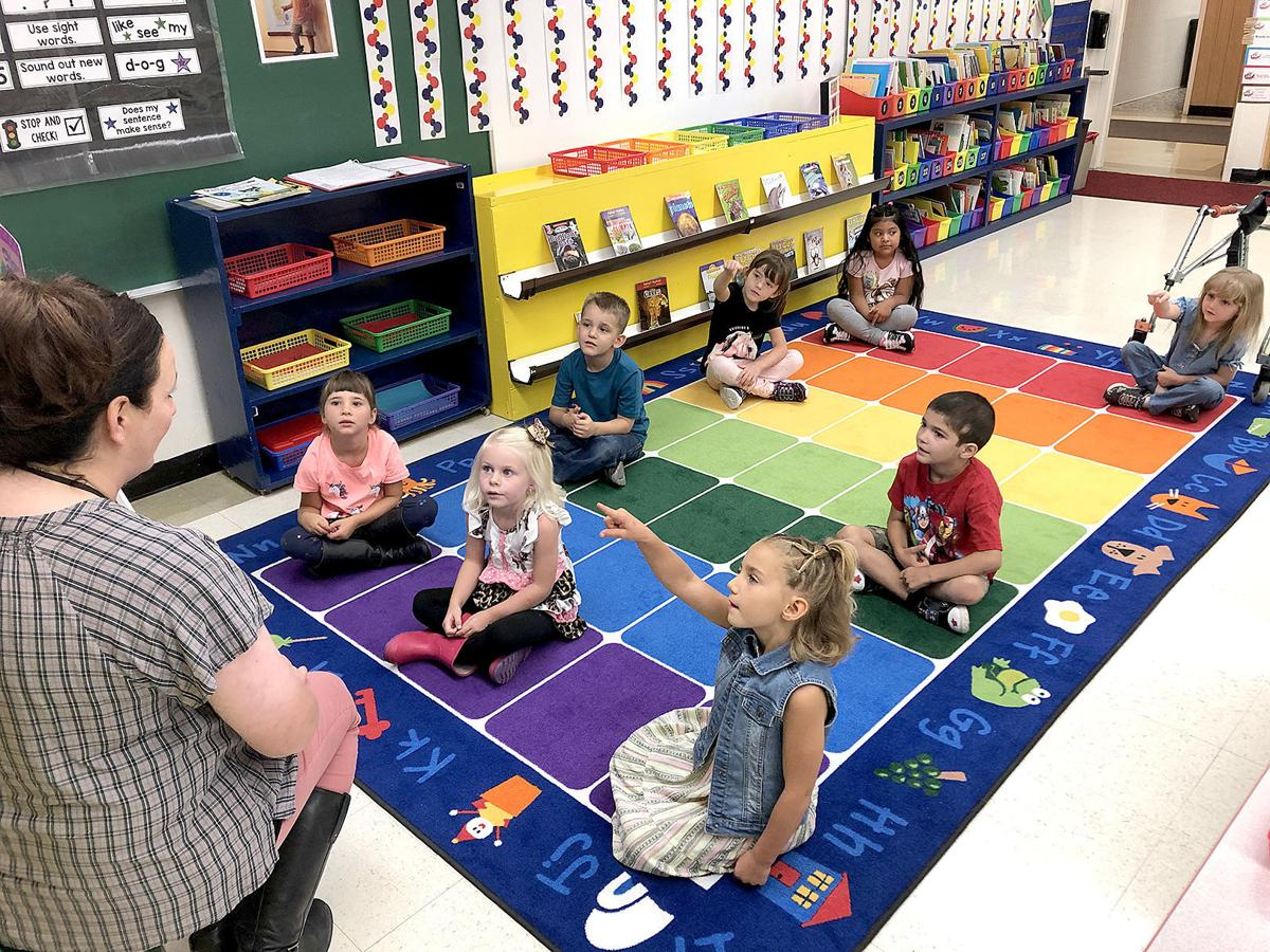 Kindergartners have fairly normal 1st day, despite pandemic