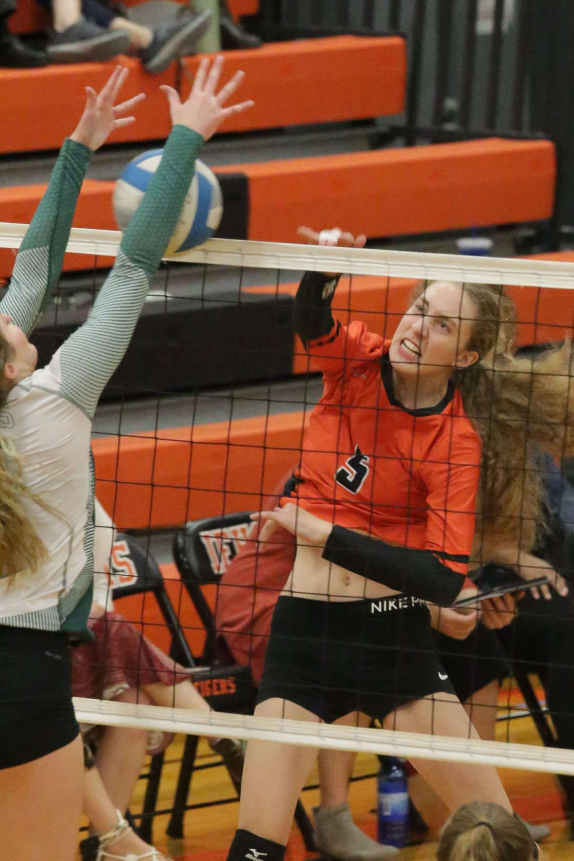 Idaho Falls vs Bonneville volleyball