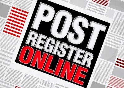 Post Register online logo
