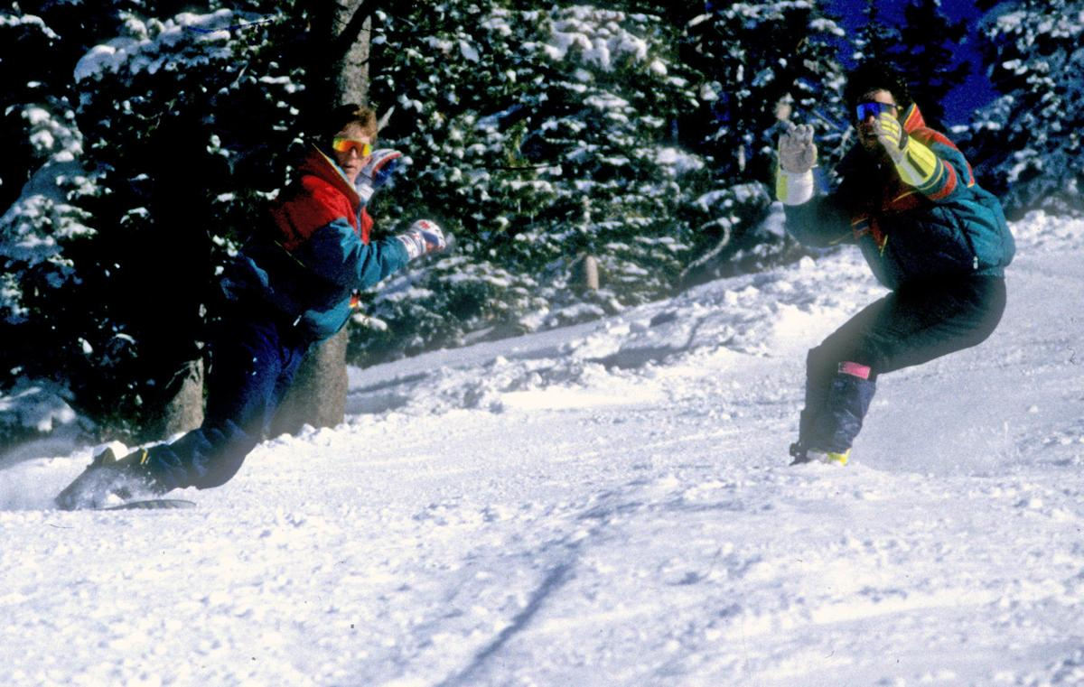 Snowboard start