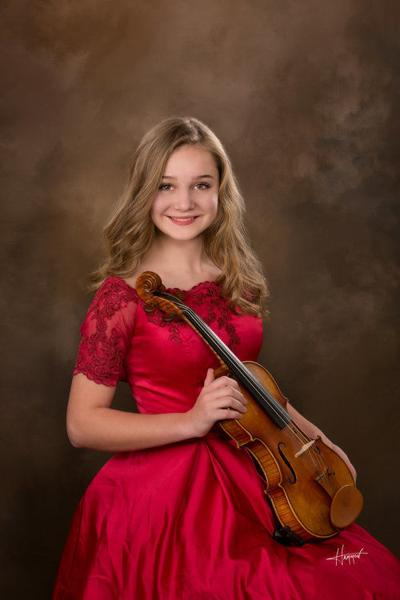 Young soloist selected as junior finalist