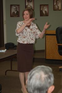Rep. Young hears tough questions on issues