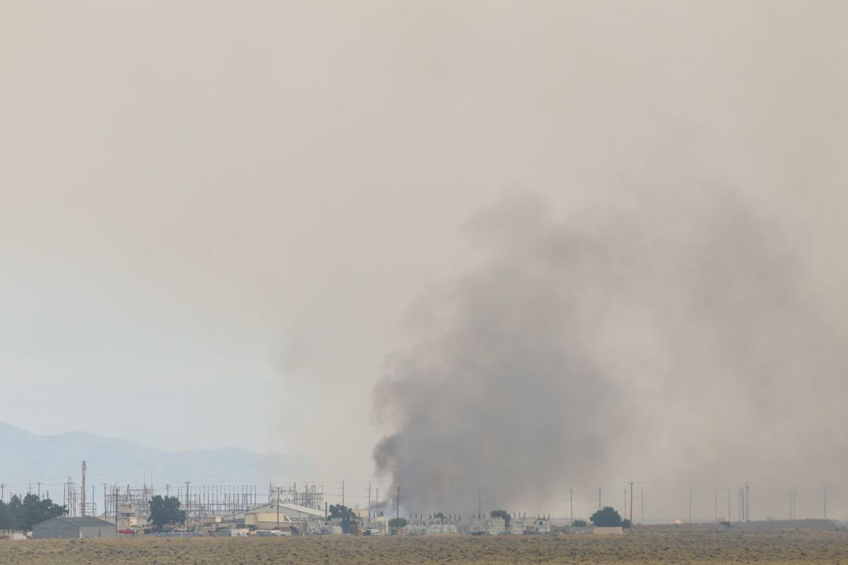 Wildfire closes INL facilities