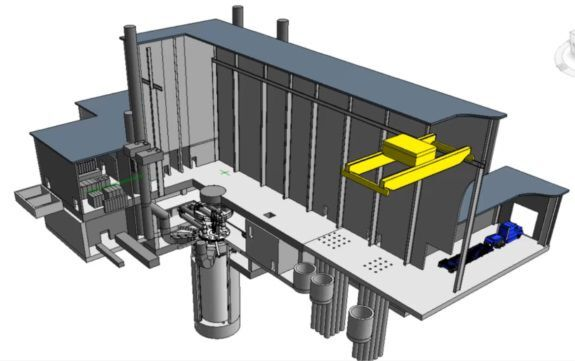 3-D_Versatile Test Reactor
