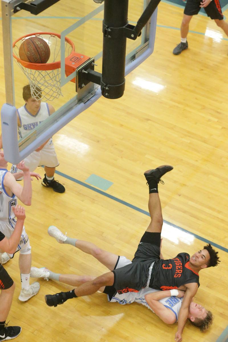 Skyline vs Idaho Falls boys basketball