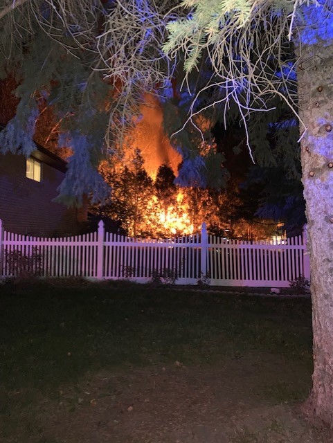 Man gets cold, accidentally burns man cave down