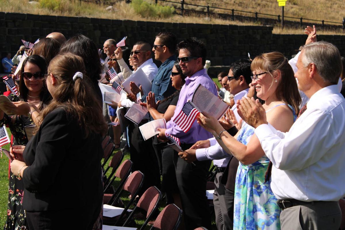 Here to stay: Yellowstone hosts naturalization ceremony for