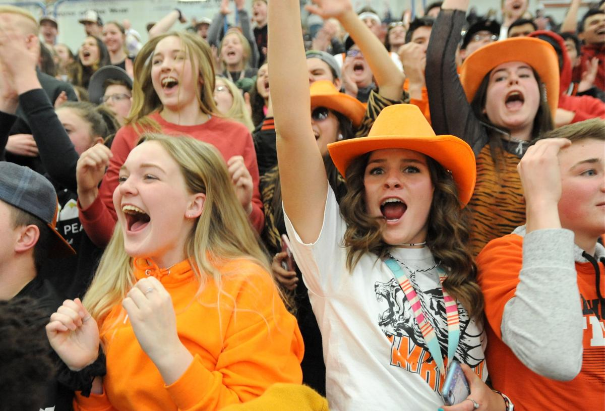 Idaho Falls basketball crowd