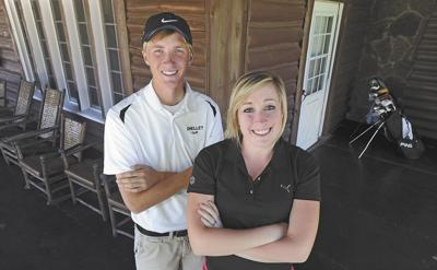 Golfers of the Year: Mandi Myers, Idaho Falls, and Will Higham, Shelley