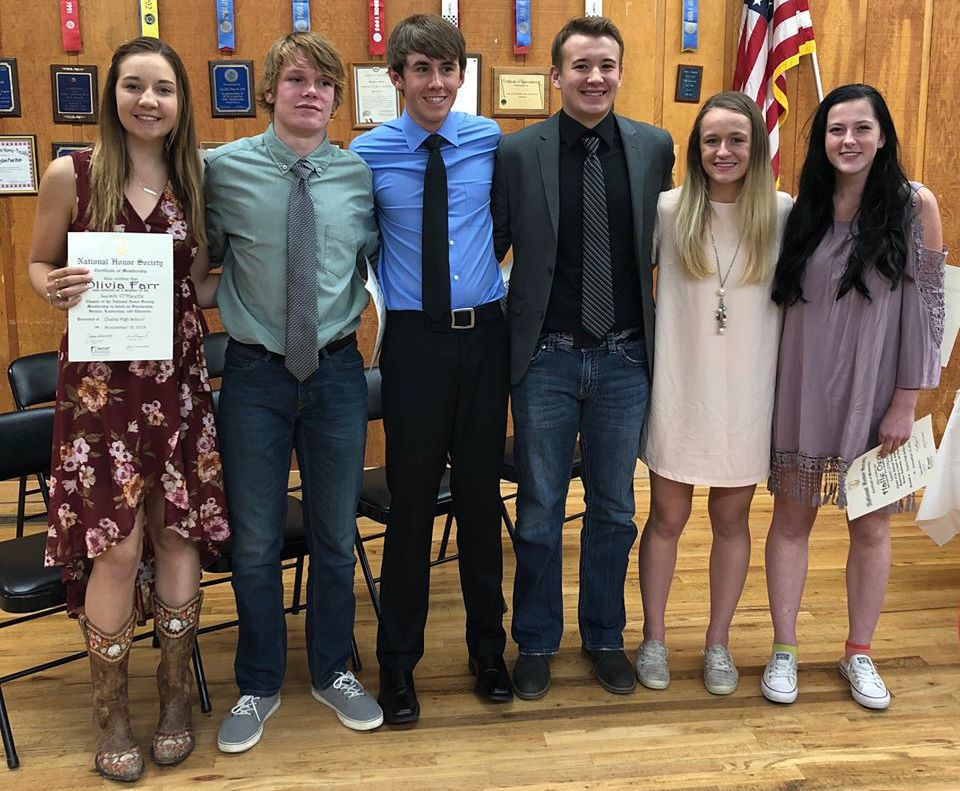 NHS inducts six new members