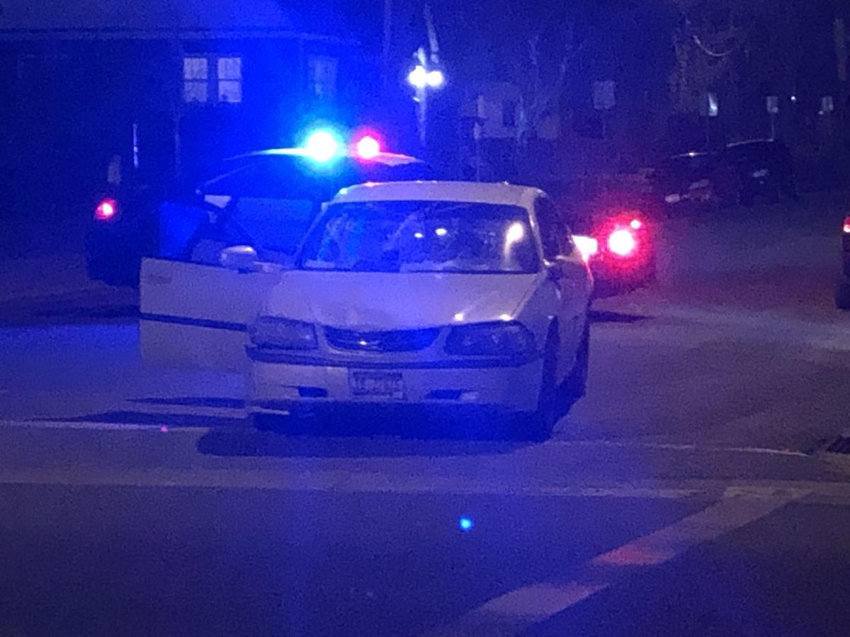 Two pedestrians struck by car