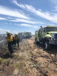Fire at Sage Junction