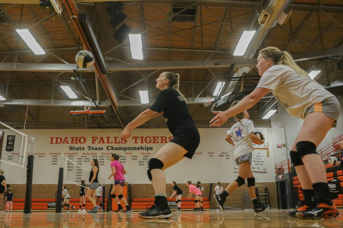 Idaho Falls volleyball