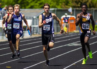 State Track and Field Finals skyline