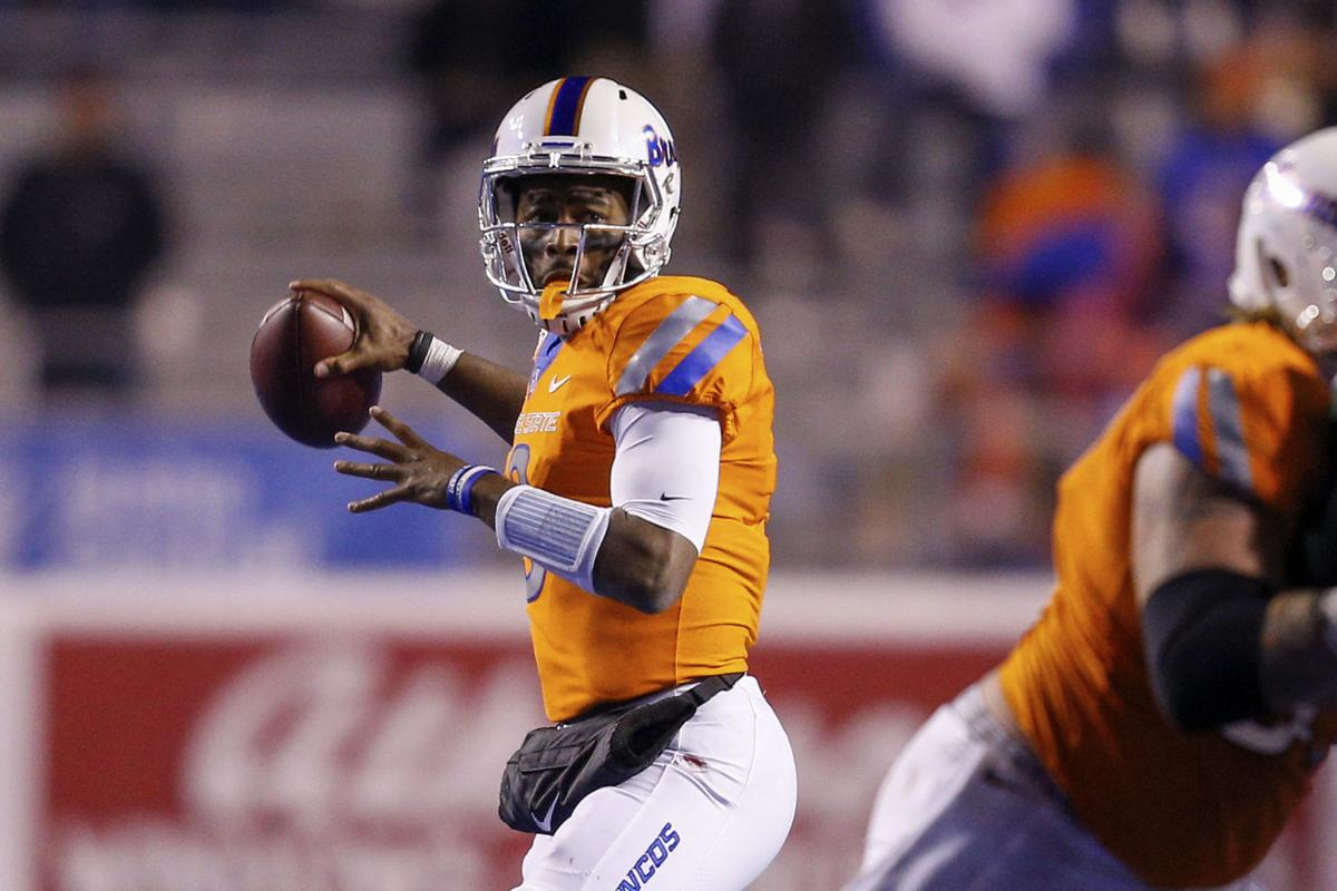 Backup QB Jaylon Henderson happy doing 'whatever I have to do' for Boise State