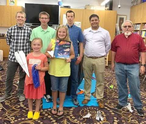 Imaginations take flight at Shelley Library