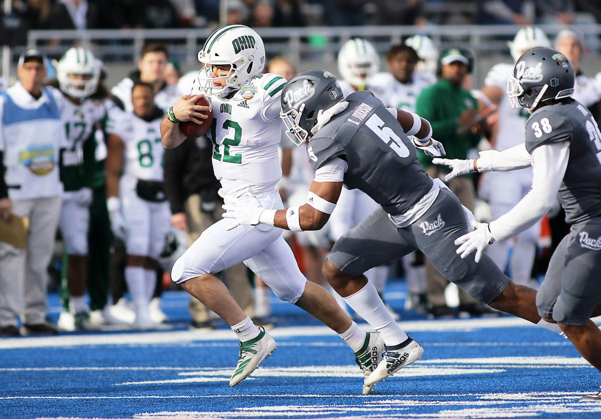 Ohio beats Nevada, makes history in lowest attended Famous Idaho Potato Bowl
