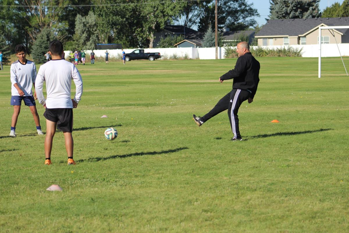 BHS Broncos open fall soccer practice