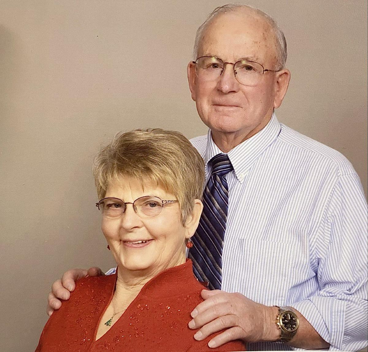 Cooks celebrate 60 years of marriage