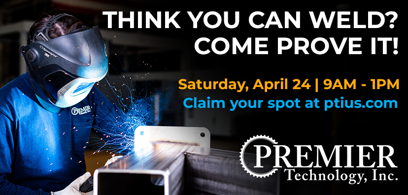 Premier Technology hosts Welding Tryout April 24