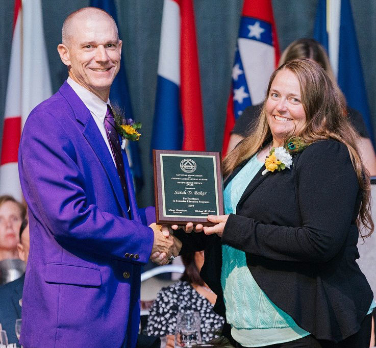 Sarah Baker named top Idaho ag educator