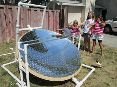 Solar cooker just one of the solar wave of products
