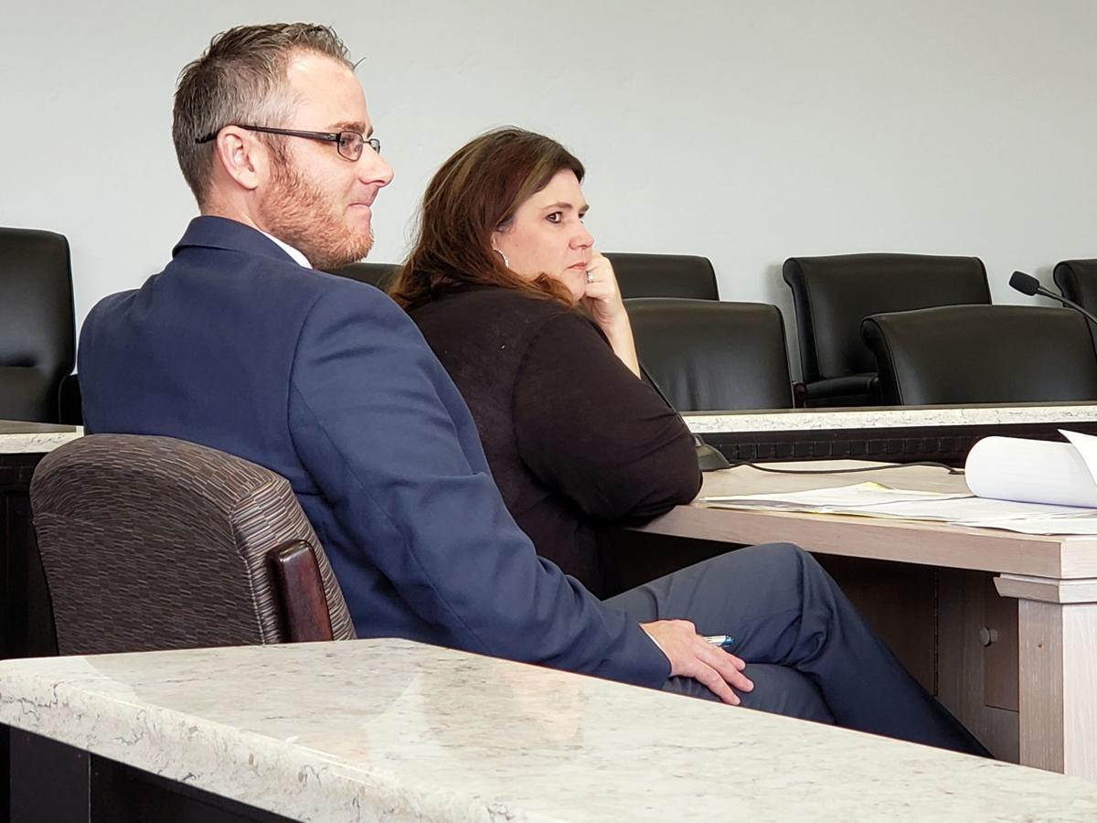 Tiffany Marie Petersen with Reichert in court (copy)