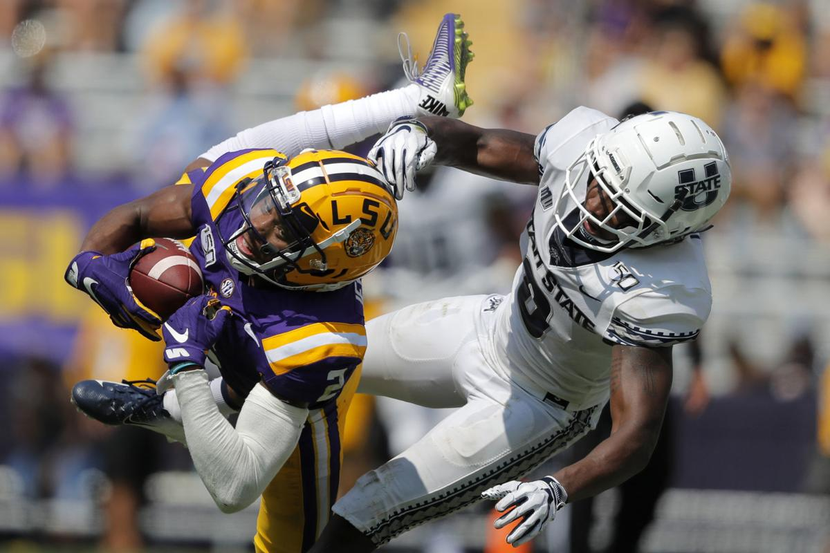 Utah State dominated by No. 5 Tigers