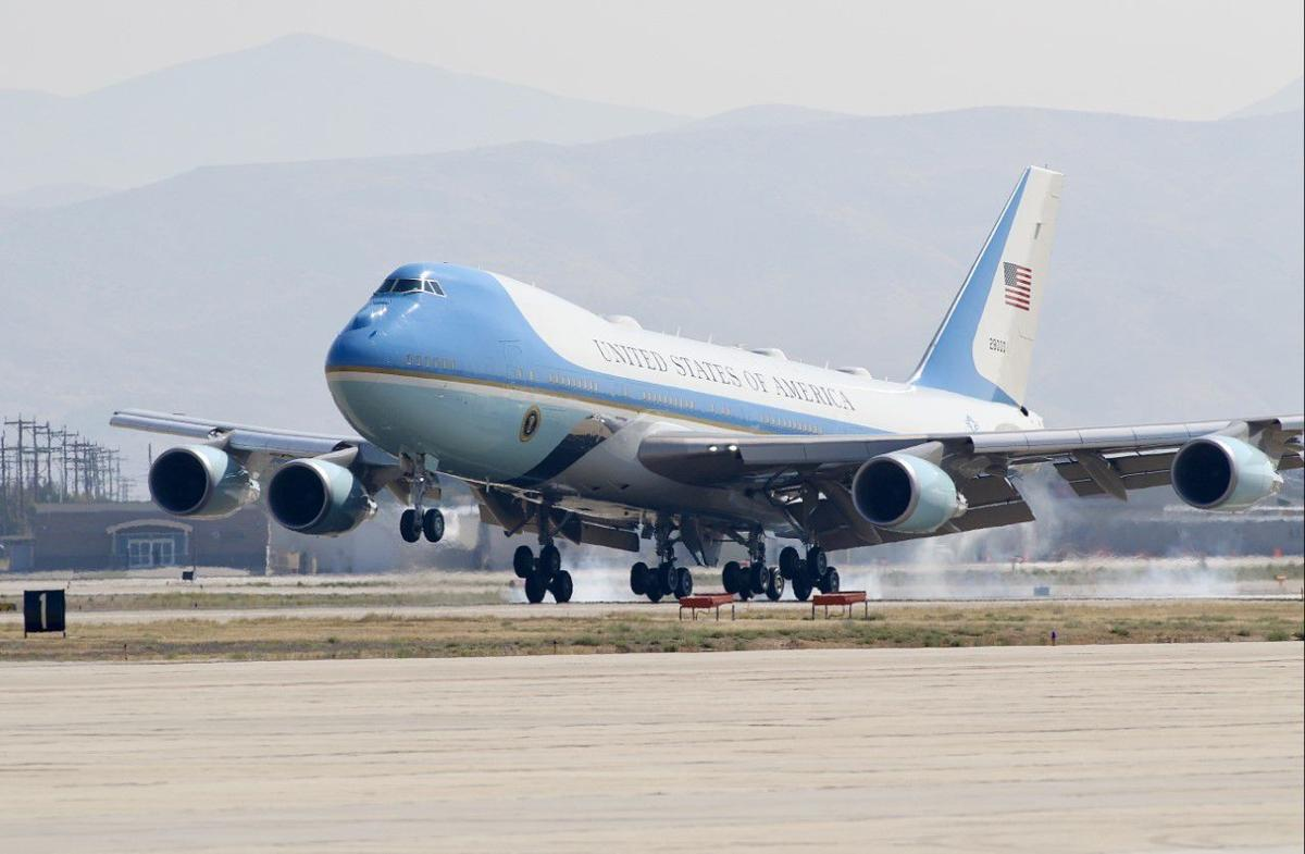 Air Force One in Boise
