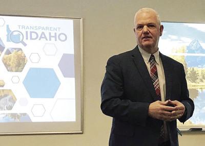 Brandon Woolf Transparent Idaho
