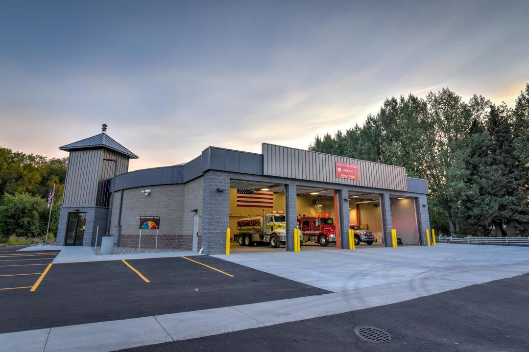 Menan fire station