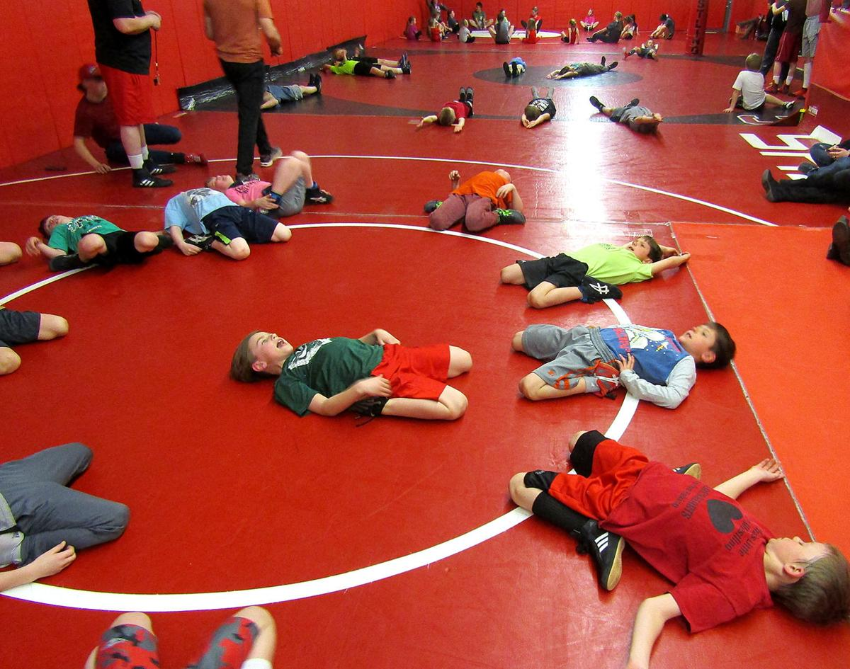Young wrestlers prepare for the road ahead