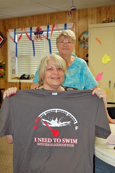 Save the pool shirts