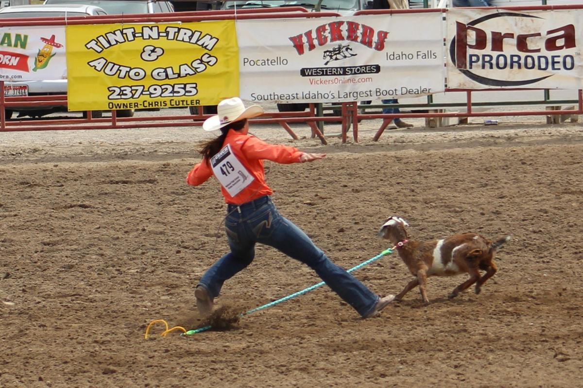 State Finals Rodeo - Goat Tying