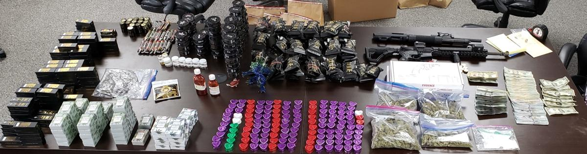 search warrant seized items