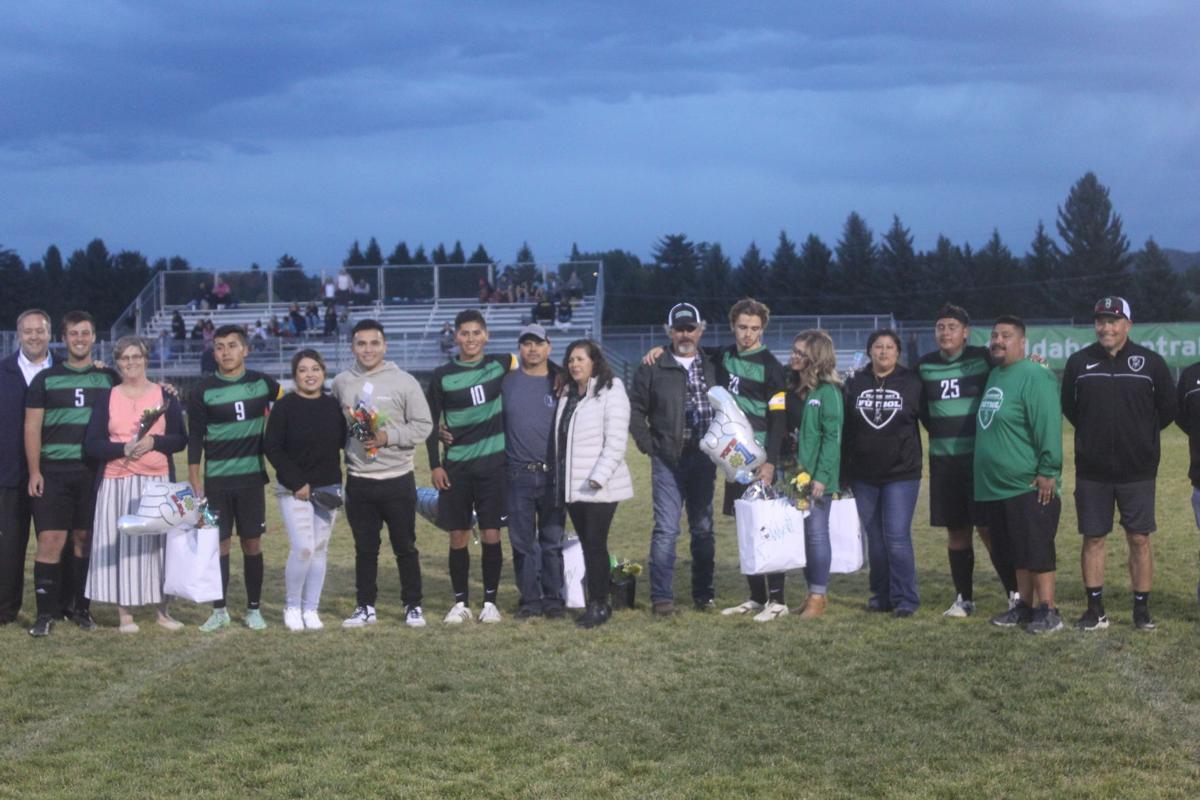 Blackfoot Broncos Soccer Senior Night