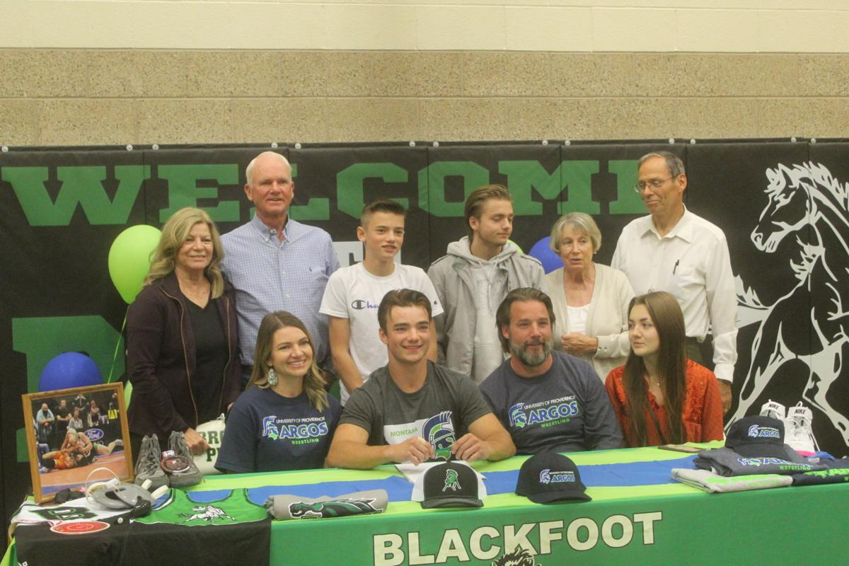 Eli Abercrombie Letter of Intent signing