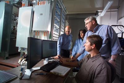 electrolysis research team