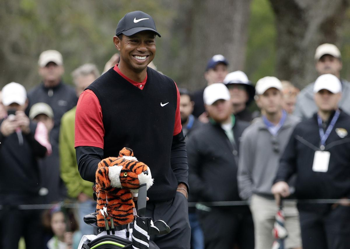 Tiger Woods says game 'right on track' as Masters approaches