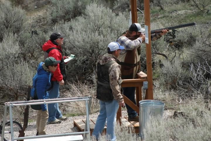 Gun club shoot