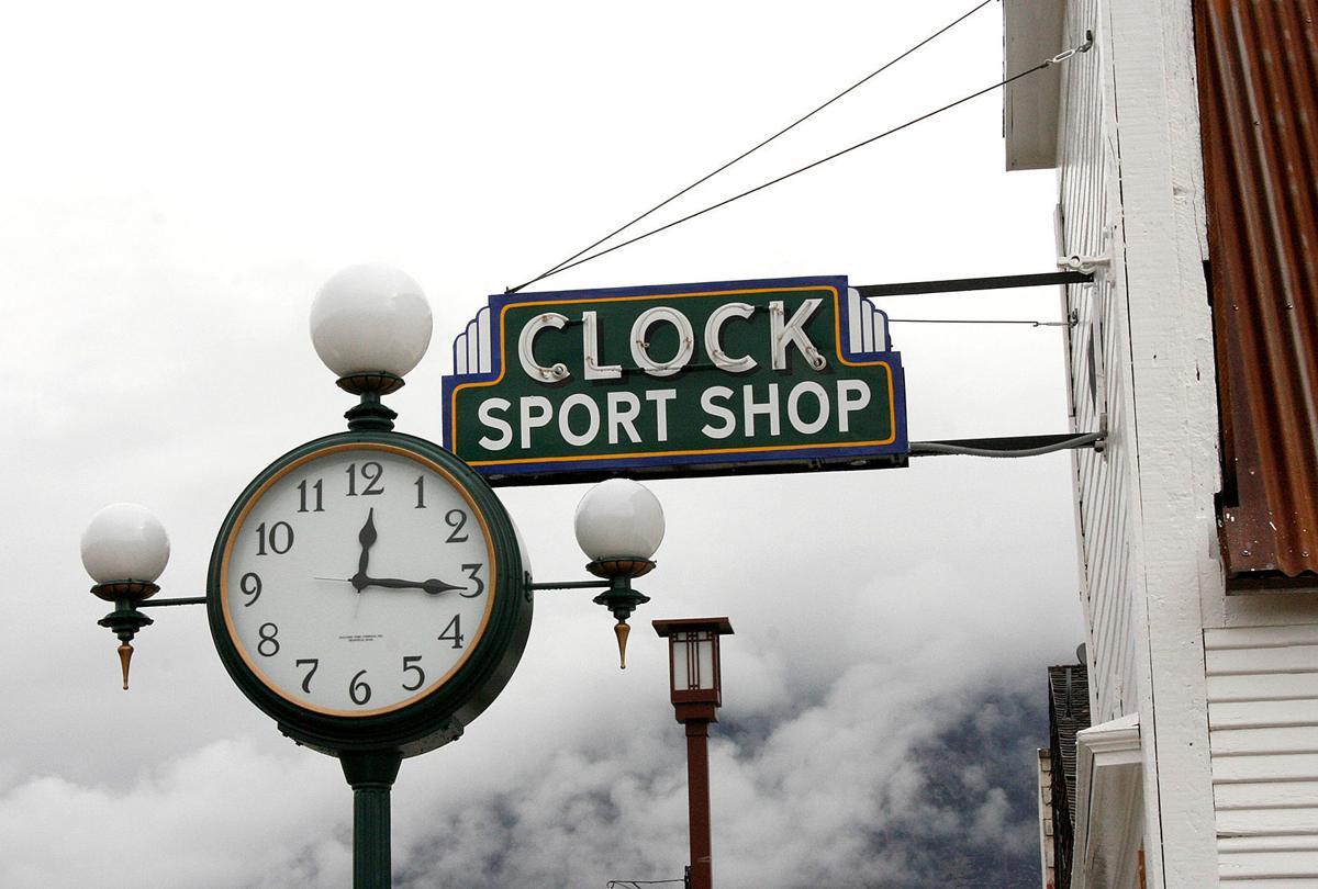 Mackay's Main Street shines with clock, neon