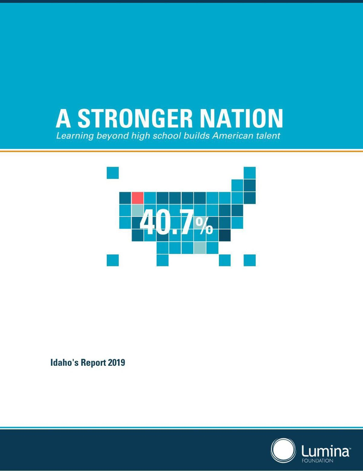 A STRONGER NATION