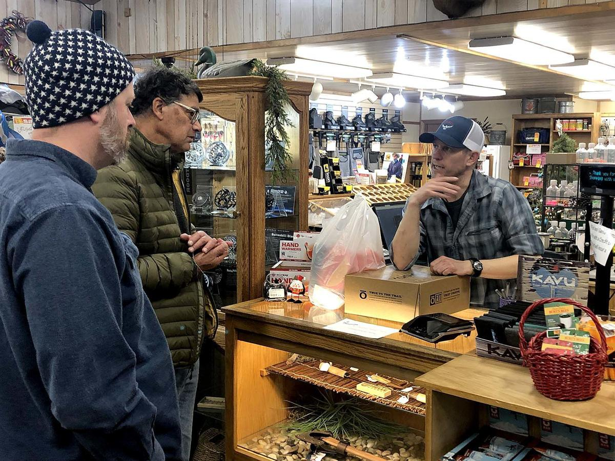 Shoppers hop around Challis searching for bargains