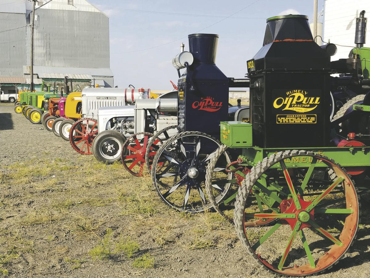 Idaho site hosts auction for historic tractors