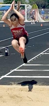 Challis girls compete at major track meet
