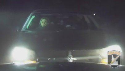 Suspect vehicle 1