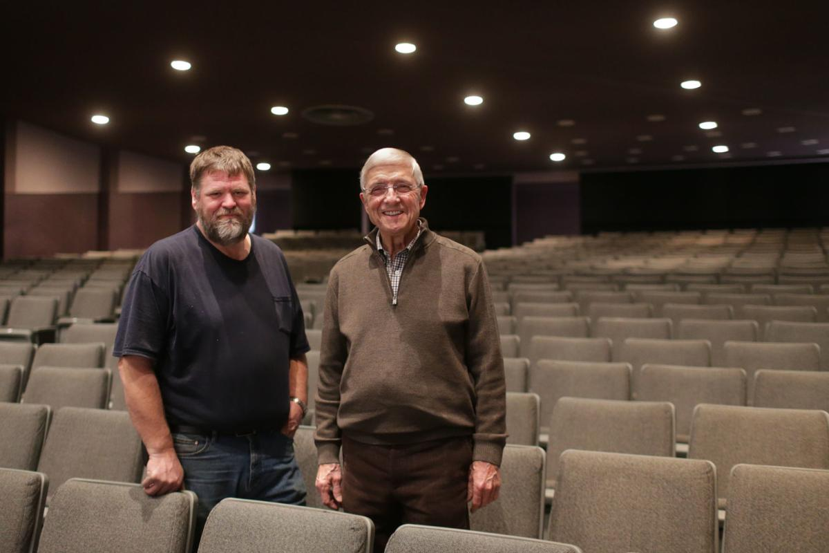 Civic Center auditorium debuting first stage of renovations